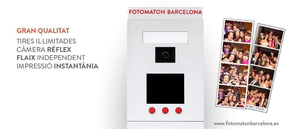 Fotomaton Barcelona qualitat