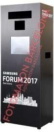 Equipo de fotomaton Barcelona Samsung