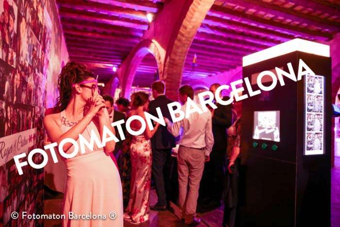 Fotomatón Boda premium en Castell de Sant Marçal