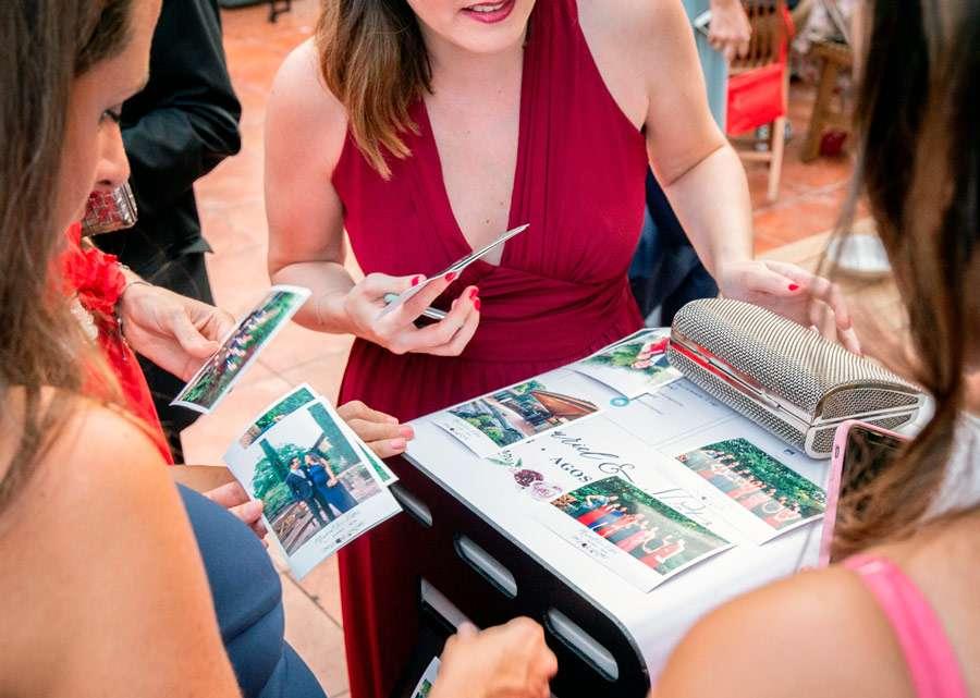 Impresora fotos smartphone evento